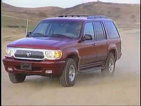 2000 Mercury Mountaineer Sport Truck Connection Archive Road Tests