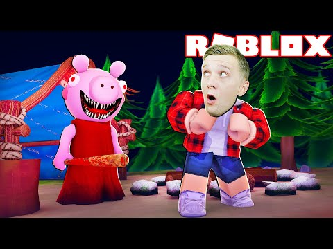 ЗЛАЯ СВИНКА  в ЛЕСУ как GRANNY в ДОМЕ #2! Или Piggy Simulator в ROBLOX Как СБЕЖАТЬ от СЮДА От FFGTV