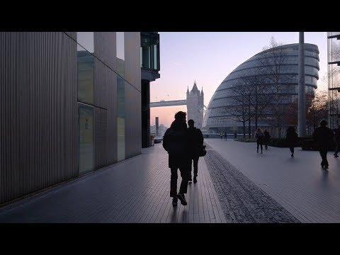 London Dawn Walk - Lambeth To SOUTHWARK PARK Incl. Butler's Wharf