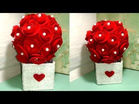 Best handmade gift for rose day   handmade gift DIY   valentine's day gift DIY Tuber Tip