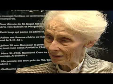 Témoignage Jacqueline Pery d'Alincourt, résistante, déportée