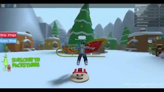 Roblox The Grinch Obby Stages 1-14 AnnaRightNow N Hholykukingames Playing