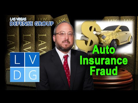 "What if I'm arrested for ""auto insurance fraud"" in Nevada? (NRS 686A)"