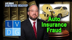 """What if I'm arrested for """"auto insurance fraud"""" in Nevada? (NRS 686A)"""