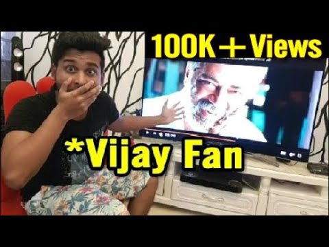Viswasam Reaction By VIJAY Fan | Thala | Muzyzia Reacts !!!