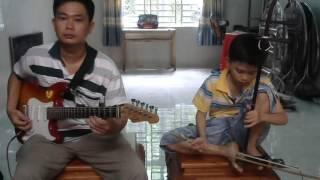 Nhạc sĩ nhí-Thành Quốc 10 tuổi đàn Nam Ai