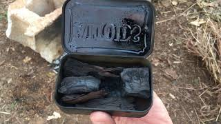 Making Charred Punk Wood for your Next Fire