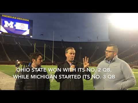Ohio State's better QB depth won the Buckeyes The Game