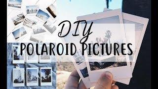 DIY POLAROID PICTURE | NO CAMERA! easy!