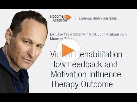 Webinar: Virtual Rehabilitation - How Feedback and Motivation Influence Therapy Outcome