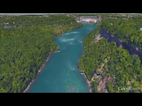 Niagara River - Google Earth tour