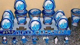 The Smurfs Surprise Eggs Egypt Collection Unboxing Toys 2013 Smerfy Sorpresa スマーフ