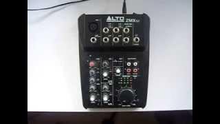 Alto ZMX 52 Mixer Guitar Plugin (User Request)