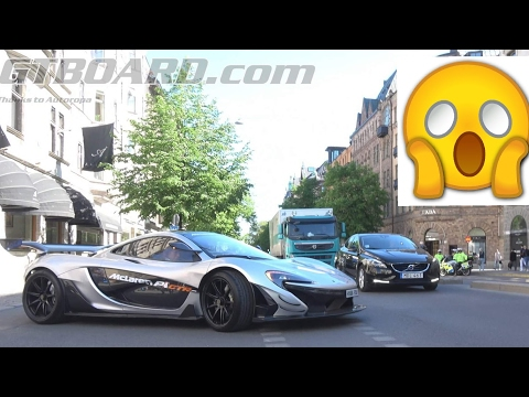 [4k] €4m streetlegal McLaren P1 GTR SHUTS DOWN Stockholm, Sweden. Thanks 🇸🇪McLaren Stockholm🇸🇪