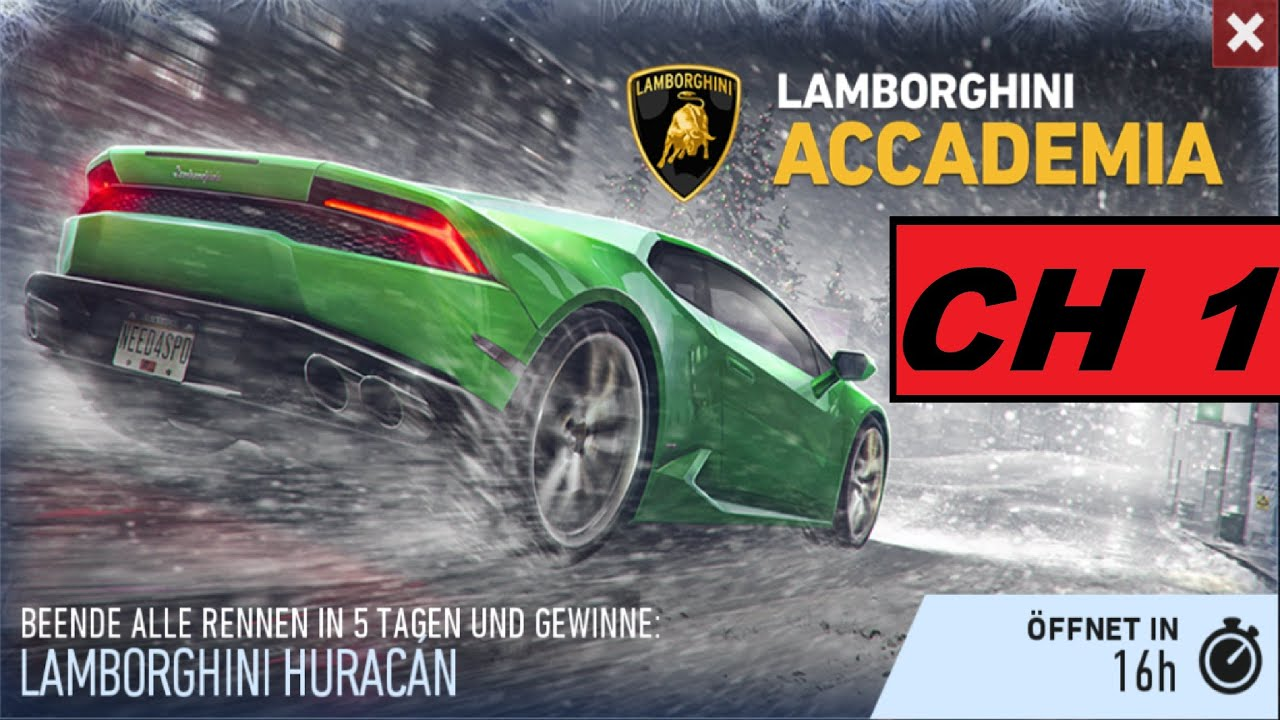 need for speed no limits lamborghini huracan accademia chapter 1 full h. Black Bedroom Furniture Sets. Home Design Ideas