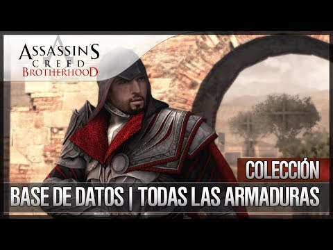 Assassin's Creed Brotherhood | Walkthrough | Todas las armaduras del juego | Cómo conseguirlas
