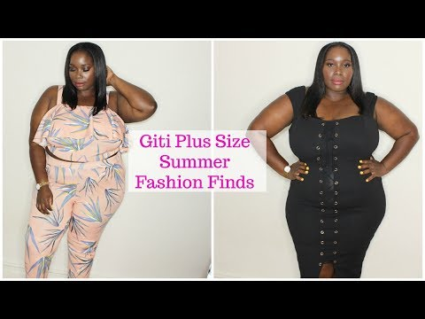 Plus Size Fashion Summer Finds From Giti Onlinetry On Haul Youtube