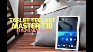 Review de la tablet Teclast Master T10 con pantalla 2,5K 4/64 Gb y lector de huellas