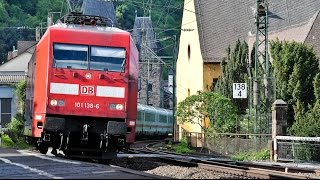 Führerstandsfahrt linke Rheinstrecke - Mittelrheintal (BIN-KO) im Dezember