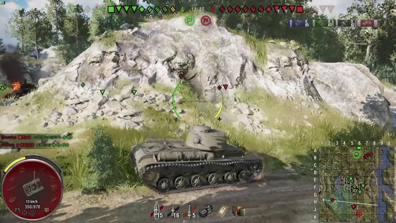 WOT Scout tankar matchmaking