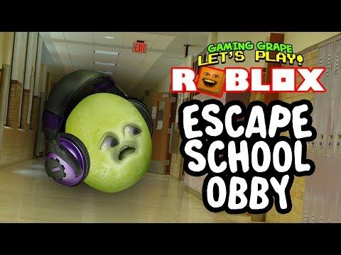 Roblox: ESCAPE SCHOOL Obby [Gaming Grape Plays]