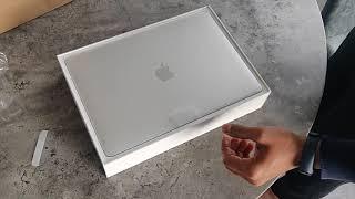 Unboxing Latest APPLE MacBook Pro 13 inch 2019 - 8GB/256GB TouchBar - Silver