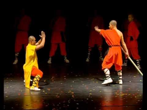 Xavier Garnault présente Shaolin Legend Olympia Paris
