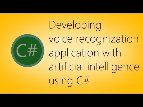 Speech recognition application using C#