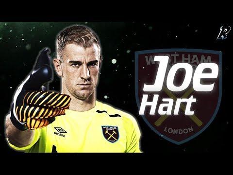 Joe Hart 2017/18 Amazing Saves - West Ham United