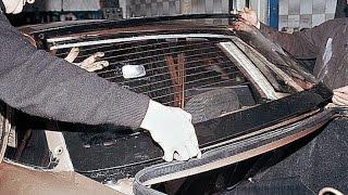 Заднее и лобовое стекло. Замена. ВАЗ 2110, 2112(Как правильно вставить лобовое (ветровое) и заднее стекло на автомобиле ВАЗ 2110, 2112., 2014-10-14T18:25:49.000Z)