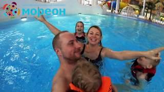 Отдых в аквапарке и термах МОРЕОН. Блогер Витория Бекренева
