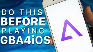 Do this BEFORE playing GBA4iOS!