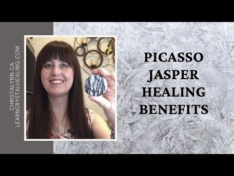 Healing With Picasso Jasper