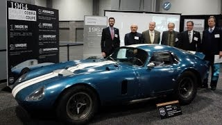 Shelby Daytona Cobra Coupe and Interview with Designer Peter Brock by Drivin' Ivan