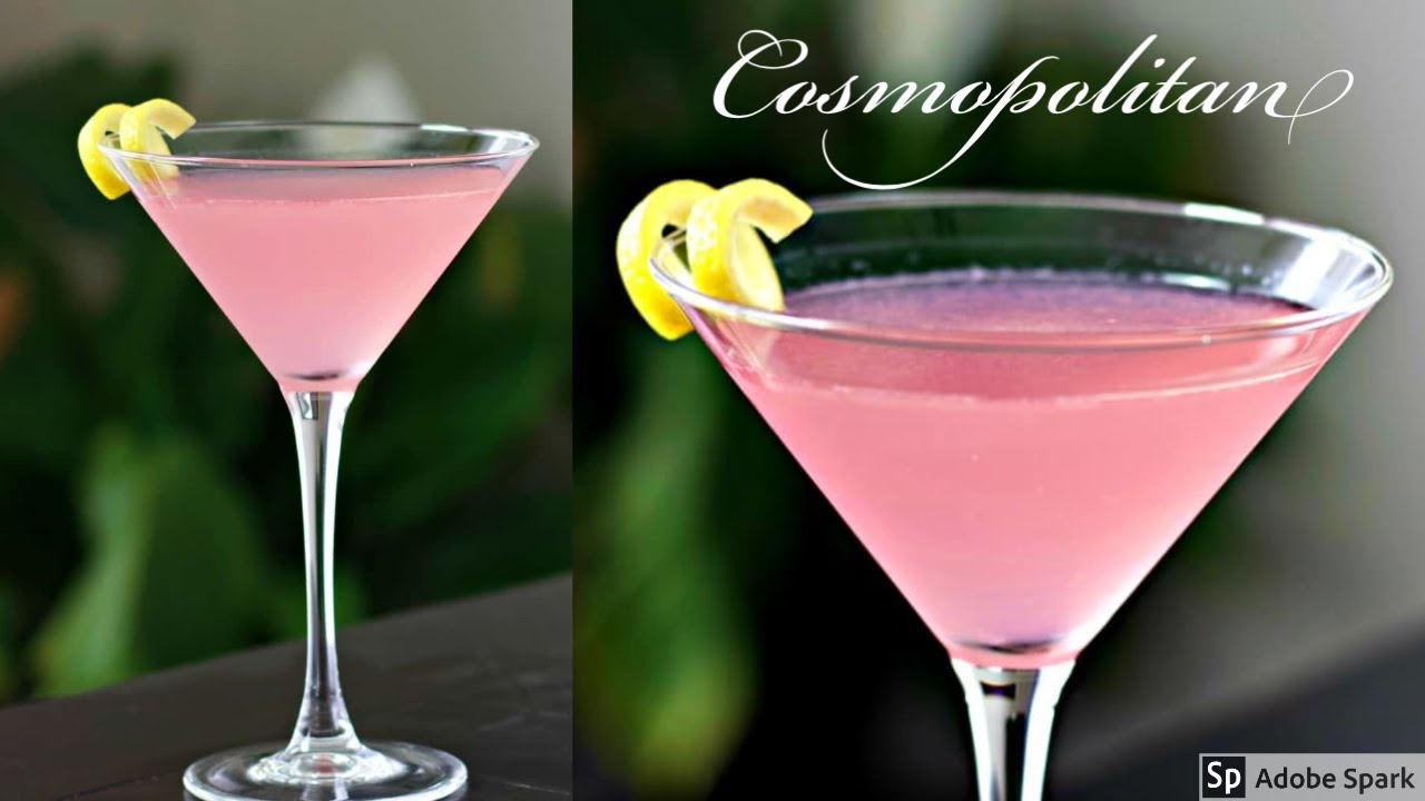 The Original Cosmopolitan Cocktail Youtube