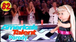 "#82 Lagu ""LIBURAN"" - American's Got Talent - Boneka Walking Doll Cantik Lucu -7L   Belinda Palace"