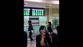31/10/2011 上野樹里 @ 台北松山機場.