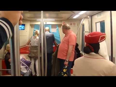 Dubai Airport train to gates A1-A25