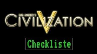 Checkliste: Civilization 5 (mit Addons) [ Test / Gameplay / Deutsch / Full HD / PC ]