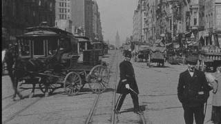 Historic film: Market Street 1906