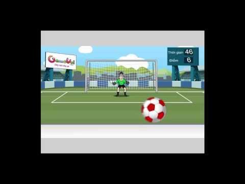 Chơi game Đánh bại thủ môn - Game Vui