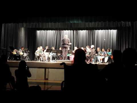 Delta Vista Middle School Concert Band: Phantom of the Opera (October 24, 2013)