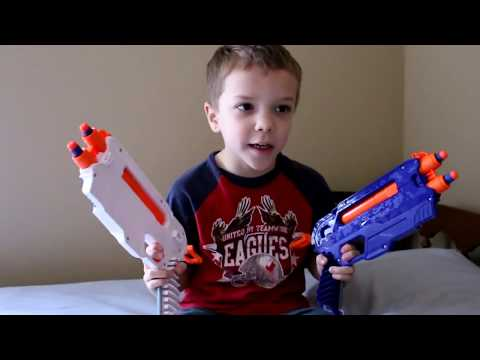 Nerf War:  The Dominator Series