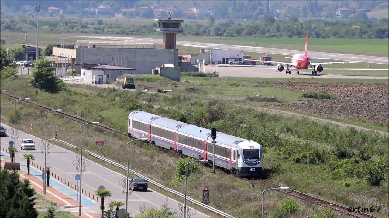 Kara, Hava ve Demir Yolu Bir Arada / Zonguldak Havalimanı