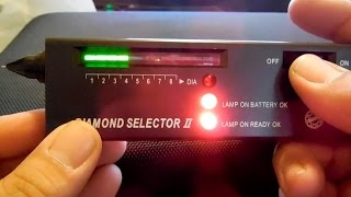 Diamond Selector II  2 Diamond tester  testing review with detecting find and personal updates!