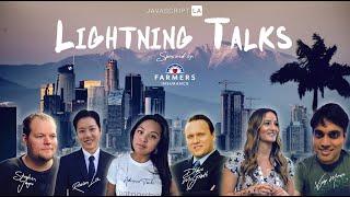 Lightning Talks w/Talia N, Adrienne T, Dave M, Rowan L, David L and more!   Meetup April 27 2020
