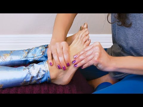 Relaxing Foot Massage Tutorial to Boost the Immune System  ♥ Melissa LaMunyon