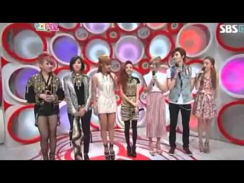 120708 2NE1   Interview + Minzy dancing to 'I Love You' Inkigayo Comeback Stage   YouTube