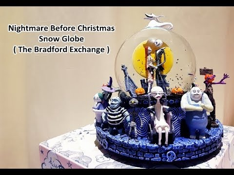 review nightmare before christmas snowglobe nowjrcy