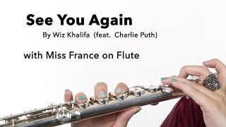 FLUTE - See You Again (Wiz Khalifa feat. Charlie Puth)
